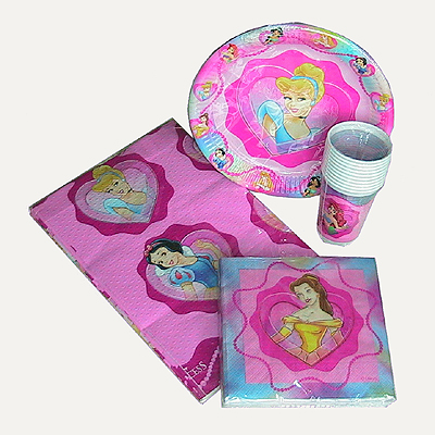 Party Tableware From Bouncing Kids Bouncy Castles And